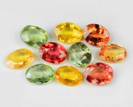 No Reserve Sapphire 2.05 Cts 11pcs Natural Fancy Multi Colors