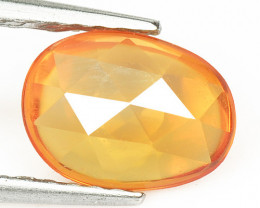 Orange Sapphire 1.03 Cts Amazing Rare Natural Fancy Loose Gemstone