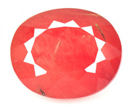 2.82 Cts Amazing Rare Natural Red Color Andesine Loose Gemstone