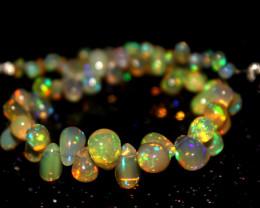32 Crts Natural Ethiopian Welo Opal Teardrops 18
