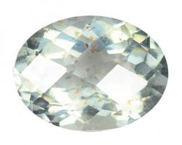 Aquamarine 1.23 Cts Un Heated  Blue Natural Loose Gemstone