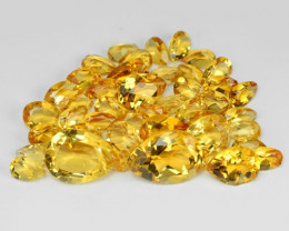13.09 Cts Fancy Golden Yellow Color Natural Citrine Gemstone