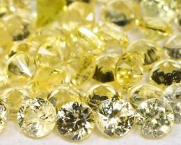 Yellow Sapphire 1.77Ct Calibrate 1.7mm Natural Yellow Sapphire Lot B1784