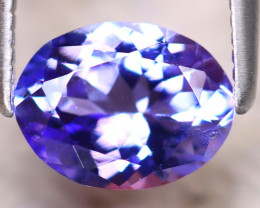 Tanzanite 1.32Ct Natural VVS Purplish Blue Tanzanite D2316/D4