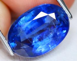 Kyanite 5.55Ct Oval Cut Natural Himalayan Royal Blue Kyanite B1748