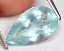 Aquamarine 4.18Ct Pear Cut Natural Blue Color Aquamarine B1763