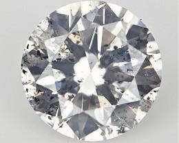0.30 CTS , Rare Salt and Pepper Diamond , Rare Natural Diamond