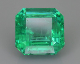 Clear Emerald 2.22 ct Stunning Color Zambia SKU-35