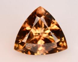 Champange Color 8.15 Ct Natural Precious Topaz - Skardu Mine ~ Percian Cut!