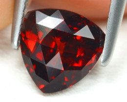 Spessartite 1.51Ct VVS Trillion Cut Natural Spessartite Garnet B1896