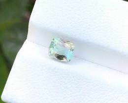 1.10 Ct Natural Bi Color Transparent Ring size Tourmaline Gemstone