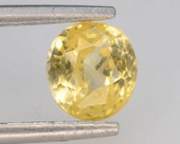 Top Color 1.55 ct Natural Yellow Sapphire ~ KA