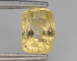 Top Color 1.30 ct Natural Yellow Sapphire ~ KA