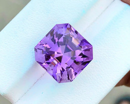 11.60 Ct Natural Purple Transparent Amethyst Gemstone