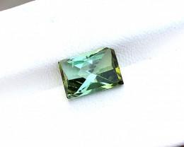 3.50 Ct Natural Bi Color Transparent Tourmaline Ring Size Gemstone