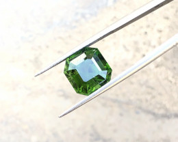 4.30 Ct Natural Dark Green Transparent Tourmaline Gemstone