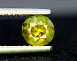 NR Auction , 0.90 CT Natural Full Fire Sphene Titanite Gemstone