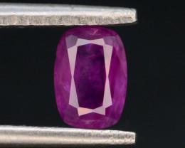 Top Clarity & Color 0.70 ct Rarest Pink Corundum Sapphire