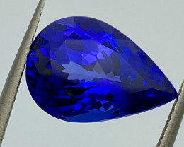 6.16 ct AAA Plus Tanzanite Loupe Clean With Fine Cutting Gemstone