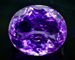 25.62 Crt Natural Amethyst Faceted Gemstone.( AB 44)
