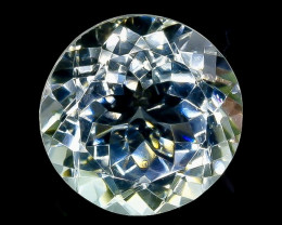 13.75 Crt Natural Green Prasiolite Amethyst  Faceted Gemstone.( AB 44)