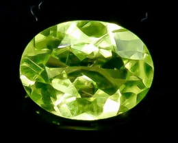 1.19 Crt Natural  Peridot Faceted Gemstone.( AB 44)