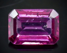 1.21 Crt Natural Rhodolite Garnet  Faceted Gemstone.( AB 44)