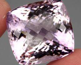 Museum 90.61 ct.   Natural Earth Mined  Top Pink Amethyst Rare