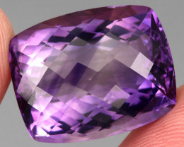 26.03 ct 100% Natural Earth Mined Unheated Purple Amethyst, Uruguay
