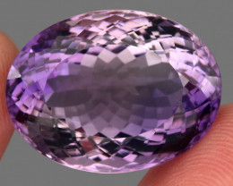 37.80 Ct. Top Quality 100% Natural Rich Purple Amethyst Uruguay Unheate