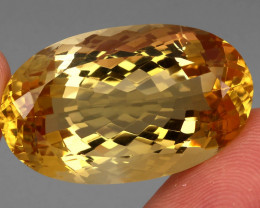 51.28 Ct. 100% Natural Earth Mined Top Quality Yellow Golden Citrine Unheat