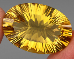 68.32 ct. Top Quality Natural Earth Mined Golden Yellow Citrine Brazil