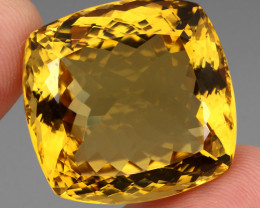 97.52  ct. Top Quality Natural Golden Yellow Citrine Brazil Unheated