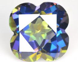 Azotic Topaz 9.67 Cts Rare Fancy Blue Color Natural