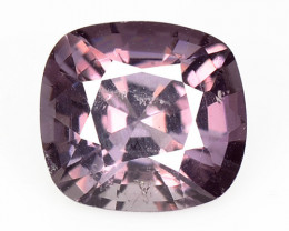 1.28 Cts Un Heated Very Rare Purple Pink Color Natural Spinel Gemstone