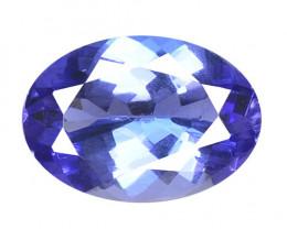 1.00 Cts Amazing rare AA+ Violet Blue Color Natural Tanzanite Gemstone
