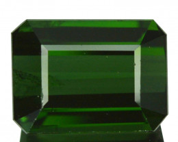 1.64 Cts Natural Neon Green Tourmaline Octagon Cut Nigeria