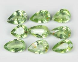 *NoReserve* Parcel Green Sapphire 2.07 Cts 9 Pcs Amazing Rare Natural Fancy