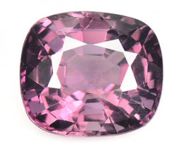 1.39 Cts Un Heated Very Rare Purple Pink Color Natural Spinel Gemstone