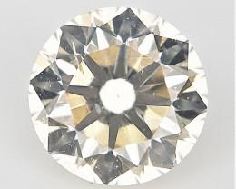 0.23 cts , Light Colored Diamond , Off white Diamond