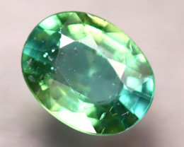 Apatite 1.87Ct Natural Paraiba Green Color Apatite D2513/B44
