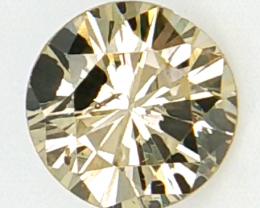 0.28 cts , Brownish Yellow Natural Diamond , Diamond For Jewelry