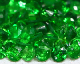 Tsavorite 1.27Ct Calibrate 1.40mm Natural Green Tsavorite Garnet AB1950
