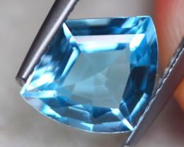 2.70Ct Natural Blue Topaz Fancy Cut Lot LZ7588