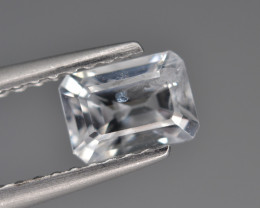 Natural Sapphire 0.83 Cts, Top Luster from Sri Lanka