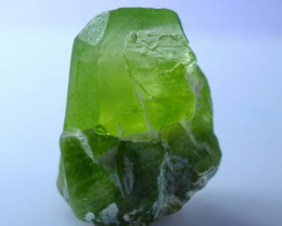 NR!!!! 32.05 CTs Natural - Unheated Green Peridot Crystal