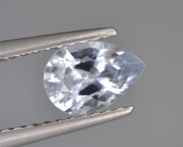 Natural Sapphire 0.92 Cts, Top Luster from Sri Lanka