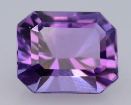 3.65 CT Natural Gorgeous Color Fancy Cut Amethyst A.Q