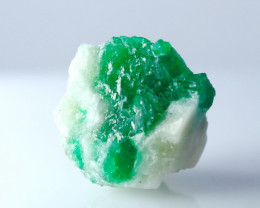 22.90 CTs Natural - Unheated Green Emerald Specimen