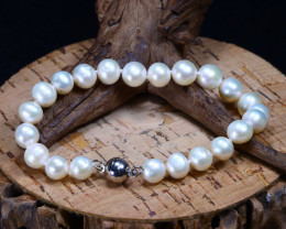 83.25Ct Natural Fresh Water Pearl Beads Bracelet B2084